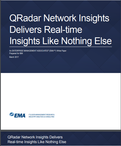 QRadar Network Insights Delivers Real-Time Insights Like Nothing Else