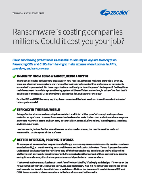 Ransomware Costing Organizations Billions as CIO's and CISO's Lose Their Jobs