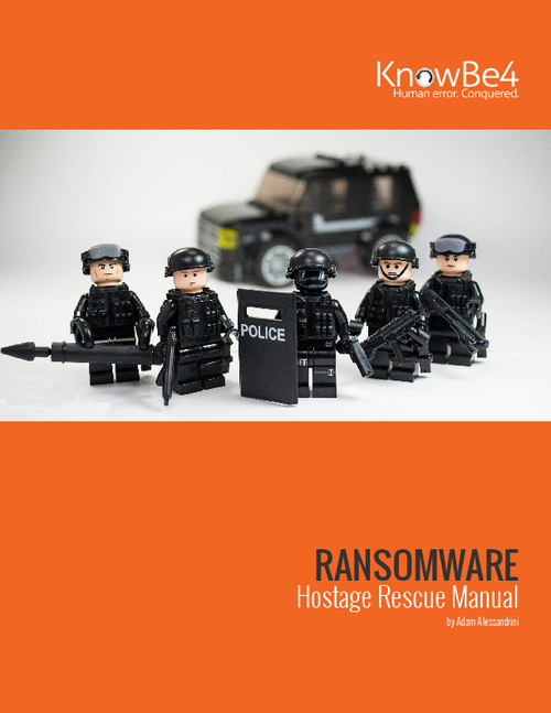 Ransomware: Hostage Rescue Manual