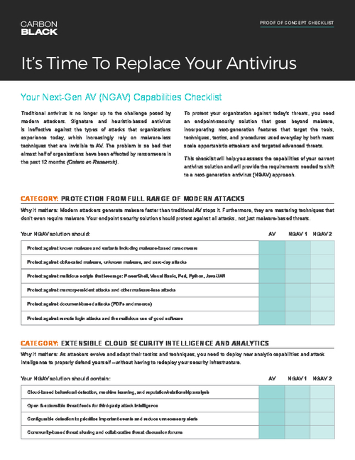 Is Ransomware Impacting Your Business? Upgrade with Next-Gen Antivirus