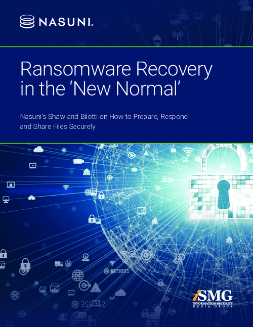 Ransomware Recovery in the 'New Normal'