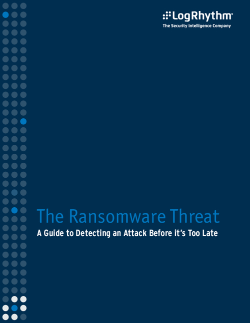 The Ransomware Threat - A Guide to Detecting an Attack Before It's Too Late