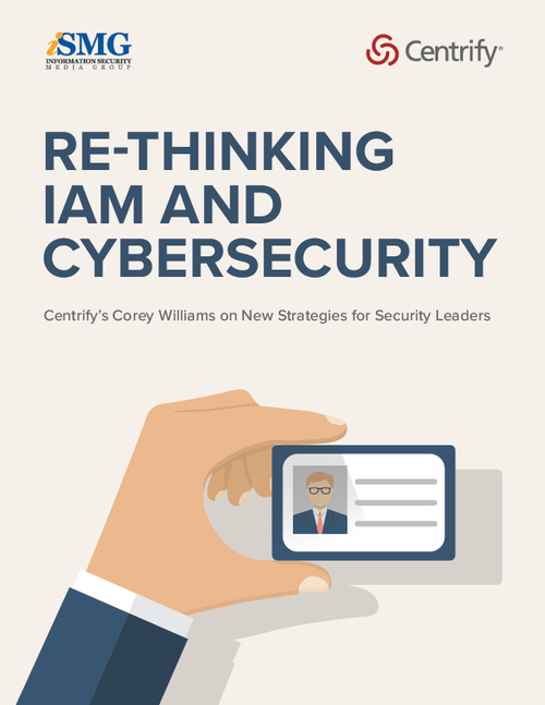 Re-Thinking IAM and Cybersecurity