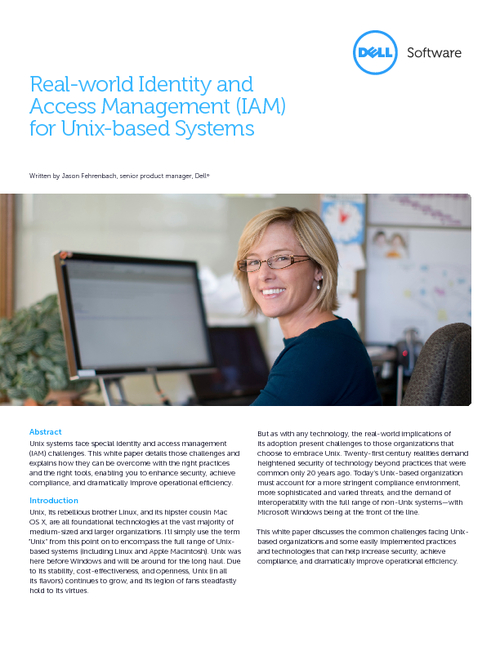 Real-world Identity and Access Management (IAM) for Unix-based Systems