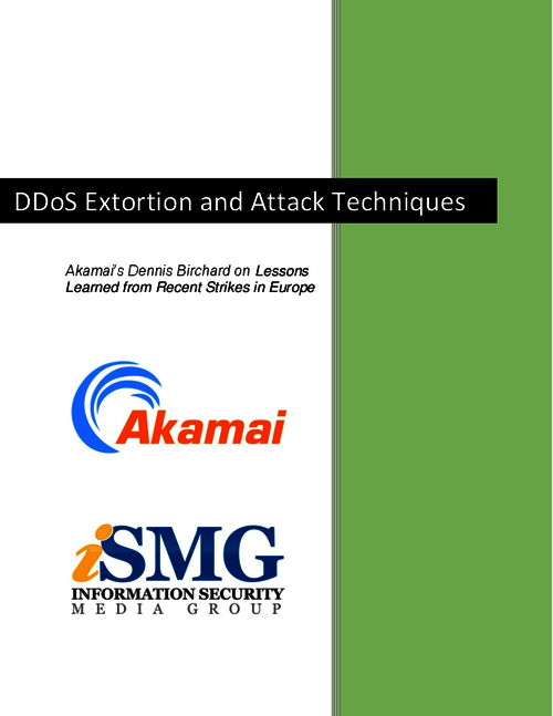 The Recent Evolution of DDoS Attacks