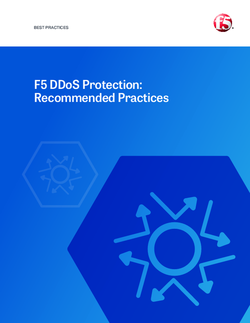 Recommended Practices for DDoS Protection
