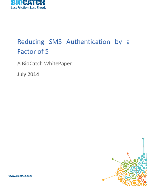 Reducing SMS Authentication by a Factor of Five