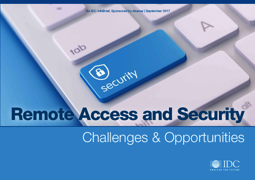 Remote Access and Security Challenges & Opportunities