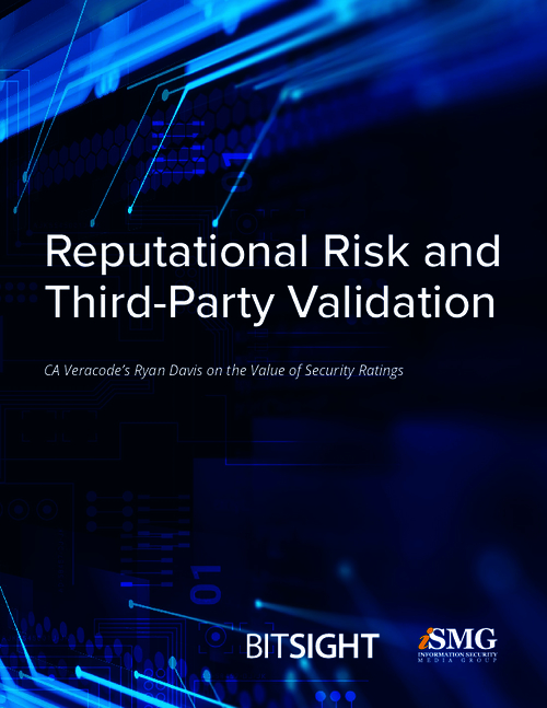 Reputational Risk and Third-Party Validation