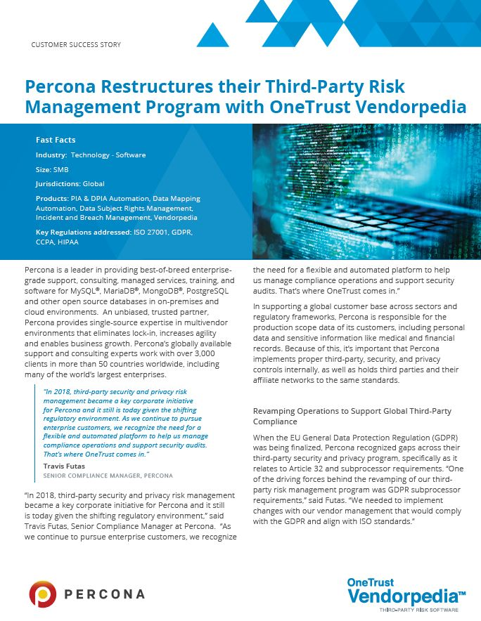 Restructuring Your Third-Party Risk Management Program