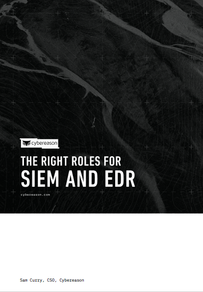 The Right Roles for SIEM and EDR