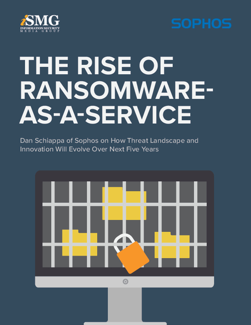 The Rise of Ransomware-as-a-Service