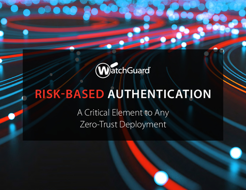 Risk-Based Authentication: A Critical Element to Any Zero-Trust Deployment