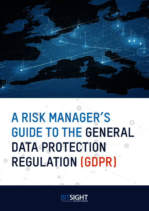A Risk Manager's Guide to the GDPR