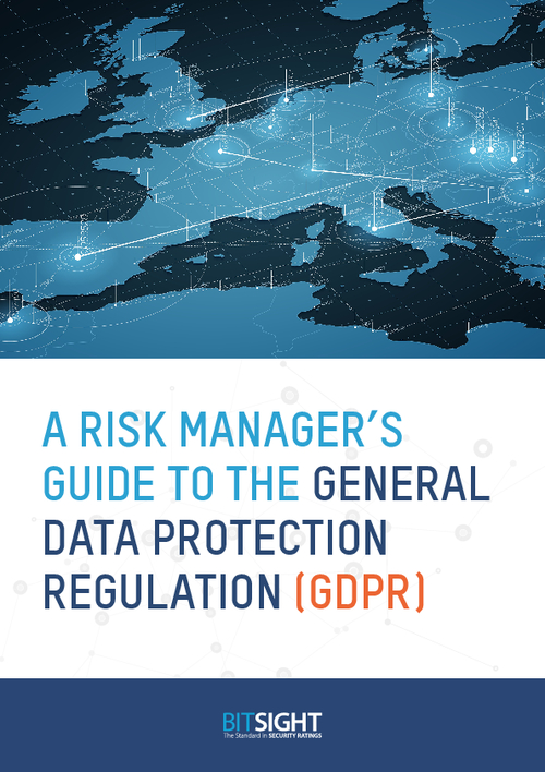 A Risk Manager's Guide to General Data Protection Regulation (GDPR)