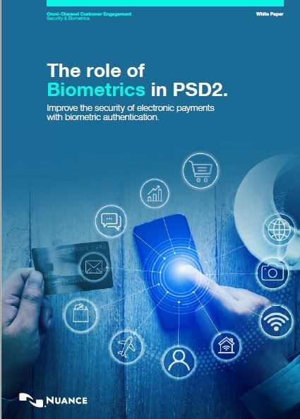 The Role of Biometrics in PSD2
