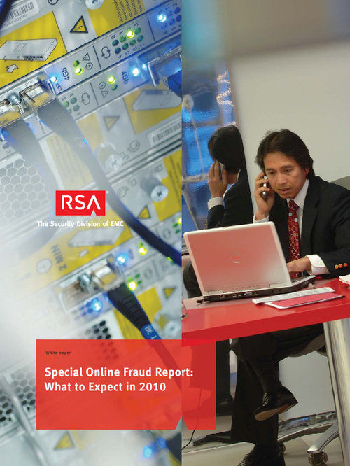 RSA Special Online Fraud Report: What to Expect in 2010