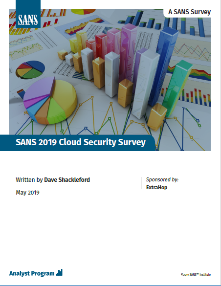 SANS 2019 Cloud Security Survey