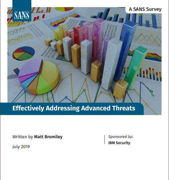 SANS Effectively Addressing Advanced Threats Survey
