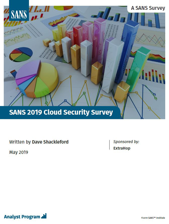 SANS Report: Cloud Security Survey 2019