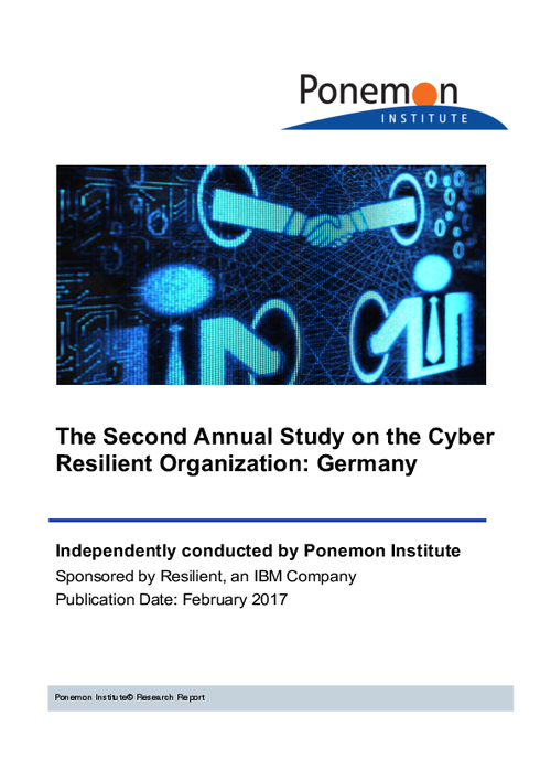 The Second Annual Study on the Cyber Resilient Organization