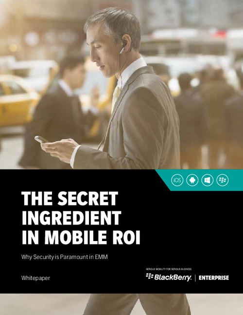 The Secret Ingredient in Mobile ROI: Why Security is Paramount