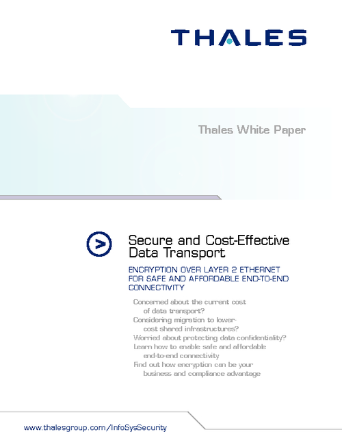 Secure and Cost-Effective Data Transport
