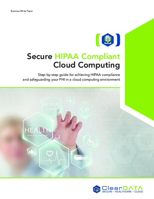 Secure HIPAA Compliant Cloud Computing