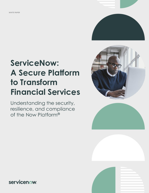 A Secure Platform to Transform Financial Services