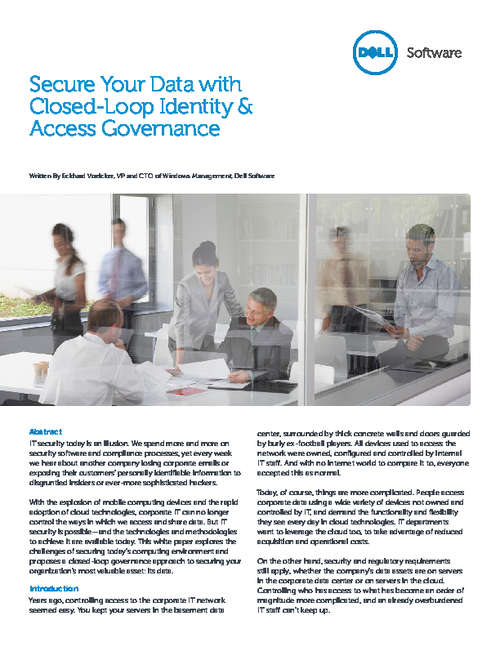Secure Your Data with Closed-Loop Identity & Access Governance