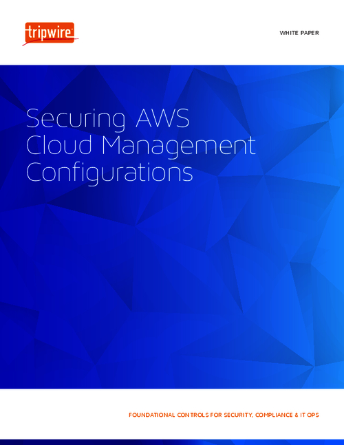 Securing AWS Cloud Management Configurations