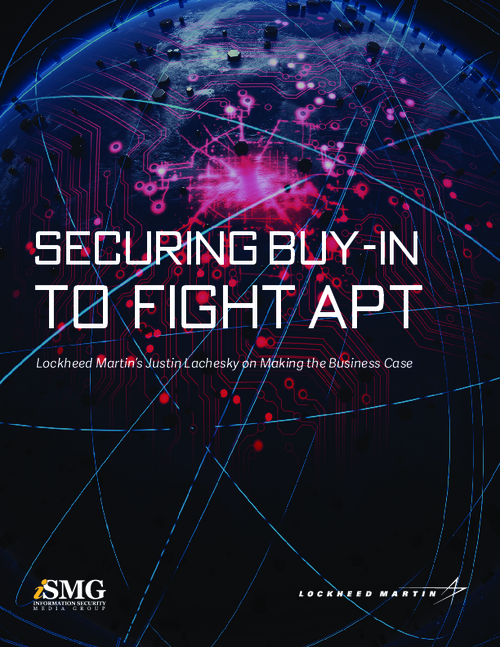 Securing Buy-In To Fight APT