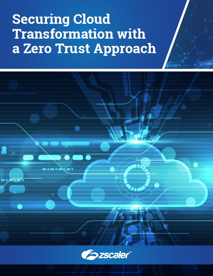 Securing Cloud Transformation with a Zero Trust Approach
