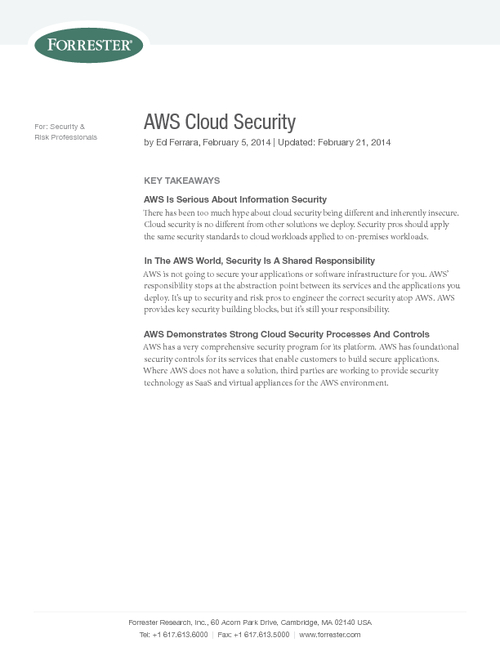 Securing Cloud Workloads