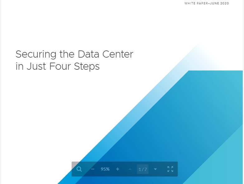 Securing the Data Center in Just Four Steps