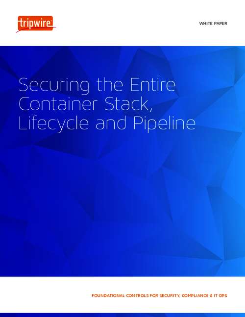 Securing the Entire Container Stack, Lifecycle and Pipeline