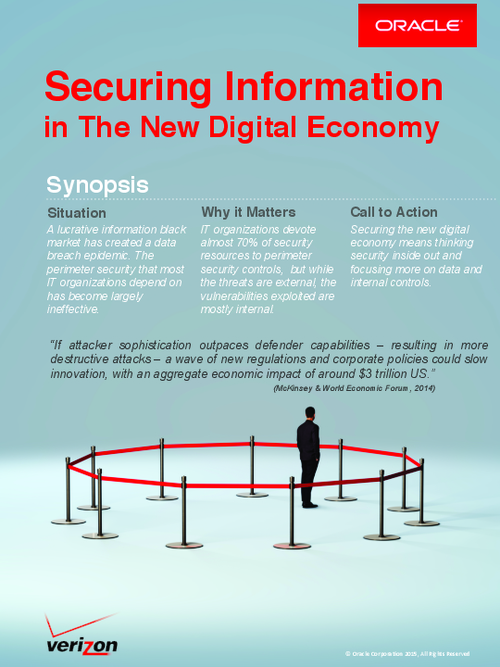 Securing Information in the New Digital Economy
