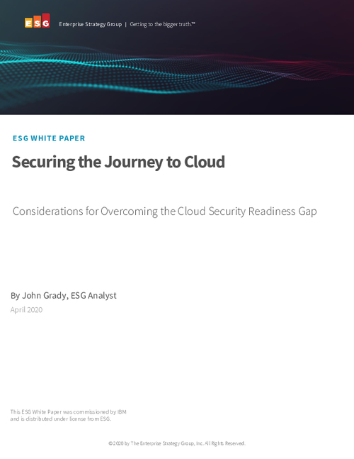 Securing the Journey to Cloud