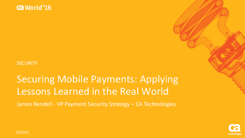 Securing Mobile Payments: Applying Lessons Learned in the Real World