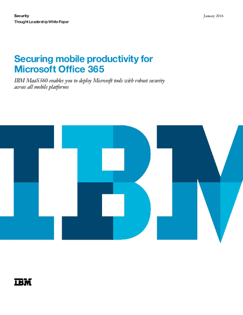 Securing Mobile Productivity Across the Microsoft Ecosystem