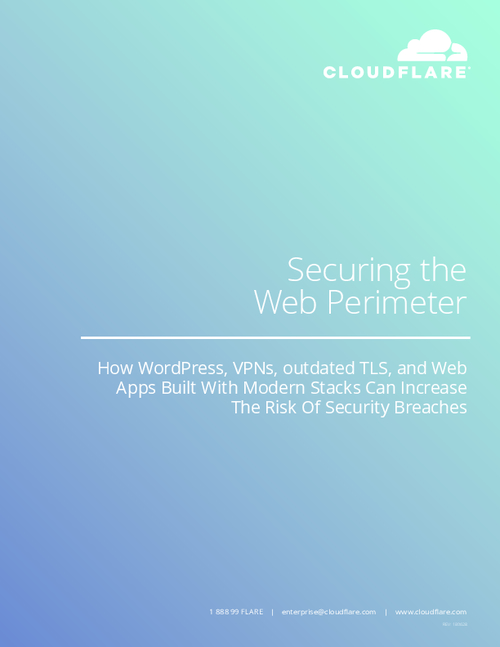 Securing the Web Perimeter