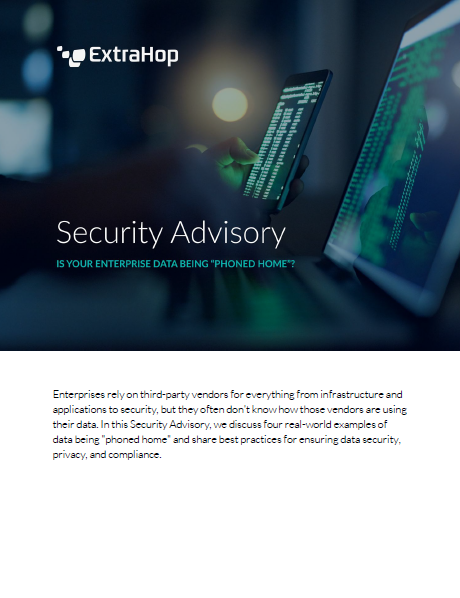 Security Advisory: Is Your Enterprise Being Phoned Home?