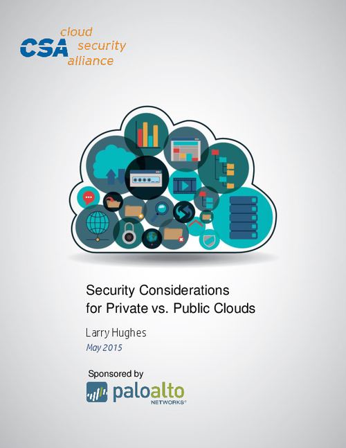 Security Considerations for Private v/s Public Cloud