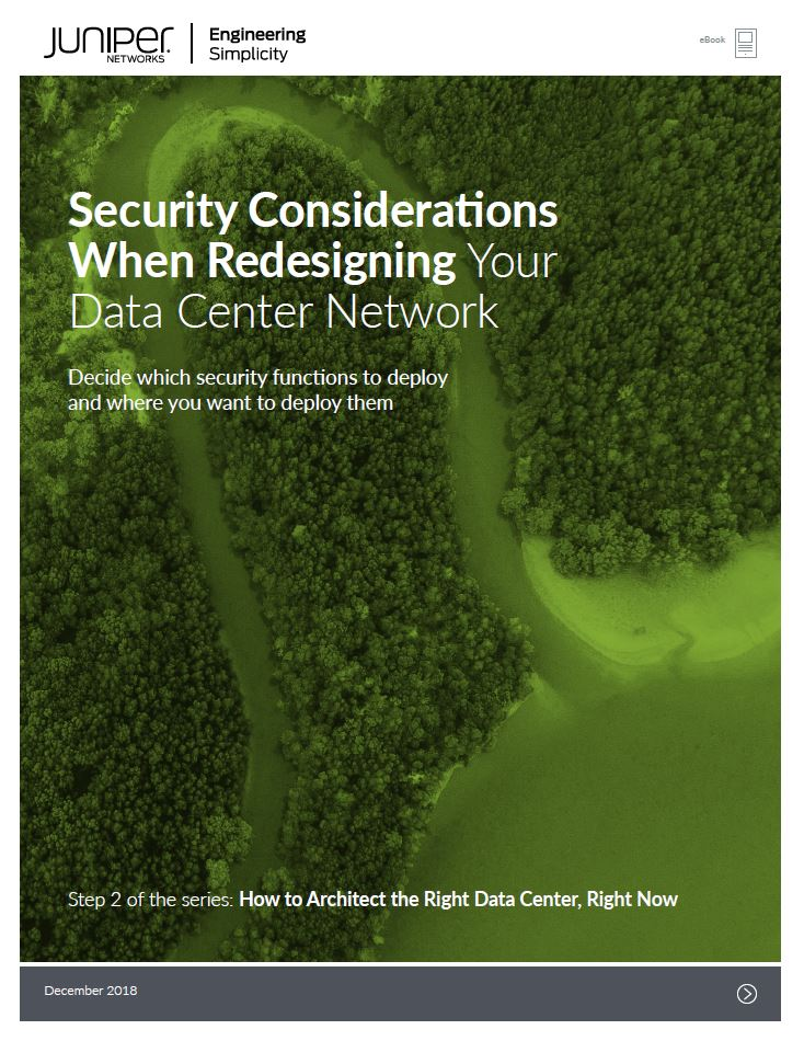 Security Considerations When Redesigning Your Data Center Network