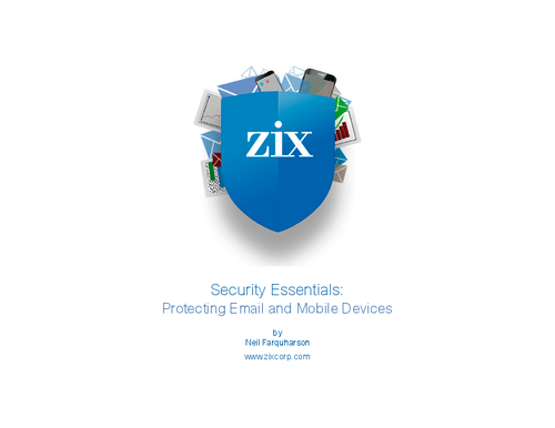 Security Essentials: Protecting Email and Mobile Devices