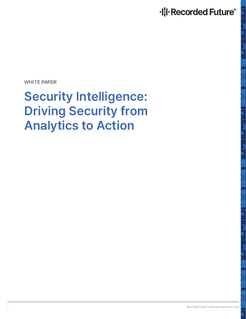 Security Intelligence: Driving Security From Analytics to Action