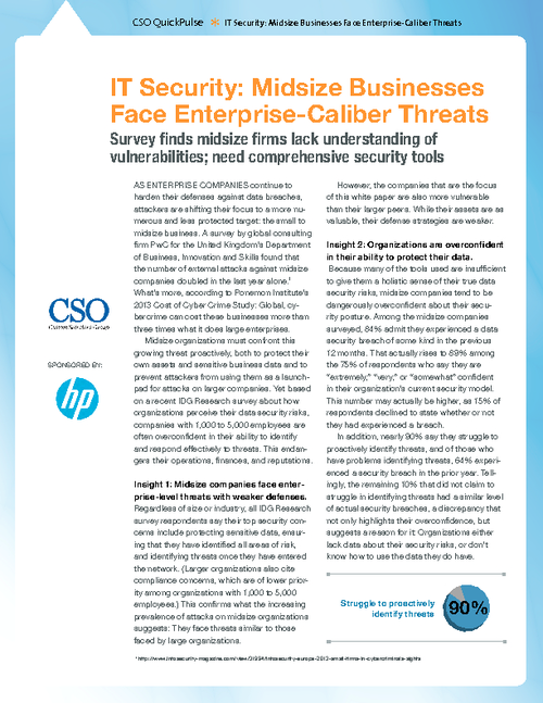 IT Security: Midsize Organizations Face Enterprise-Caliber Threats