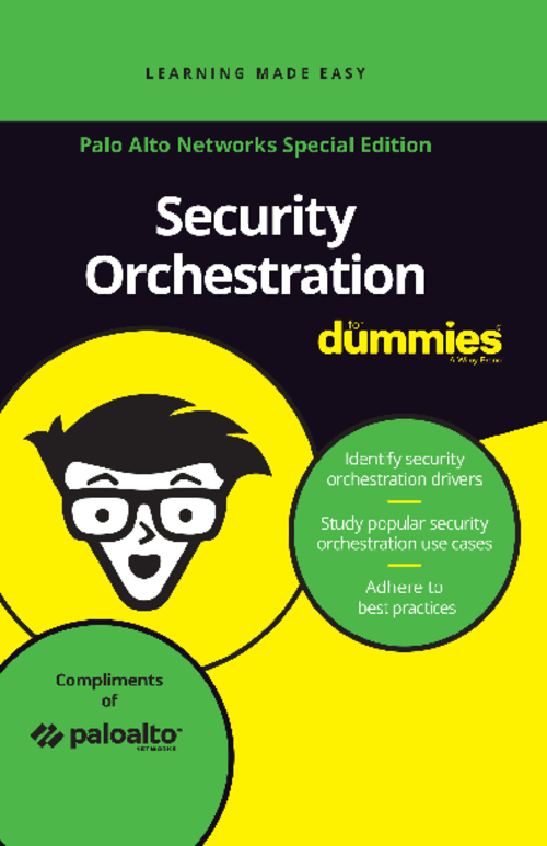 Security Orchestration for Dummies Guide