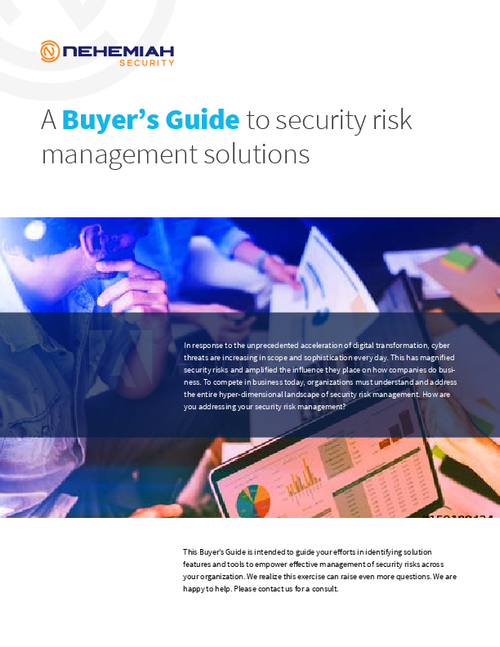 security risk management Join duo security on in september for the gartner security & risk management  summit in london to get the latest information on new threats and emerging.
