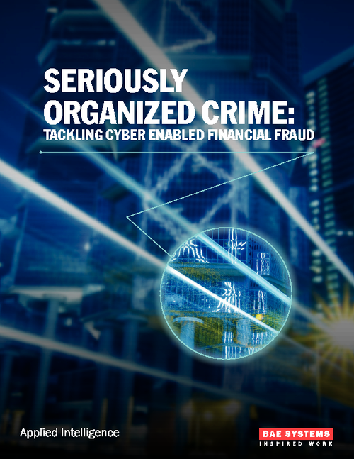 Seriously Organized Crime:  Tackling Cyber Enabled Financial Fraud